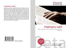Bookcover of Prophwyd y Jubili