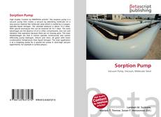 Copertina di Sorption Pump