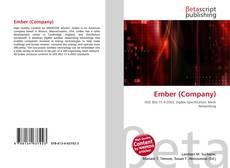Couverture de Ember (Company)