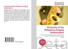 University of the Philippines Singing Ambassadors kitap kapağı