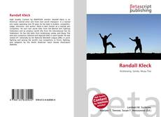 Buchcover von Randall Kleck