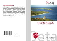 Bookcover of Sorrento Peninsula