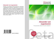 Alexander von Jugoslawien的封面