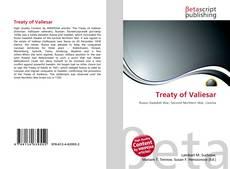 Bookcover of Treaty of Valiesar
