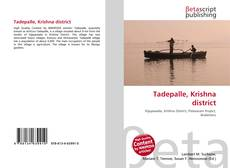 Bookcover of Tadepalle, Krishna district