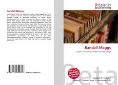 Bookcover of Randall Maggs