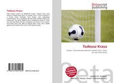 Borítókép a  Tadeusz Kraus - hoz