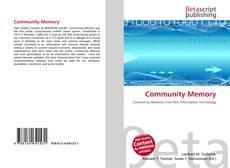 Buchcover von Community Memory