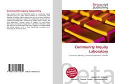 Bookcover of Community Inquiry Laboratory
