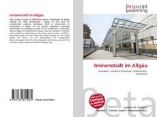 Immenstadt im Allgäu kitap kapağı