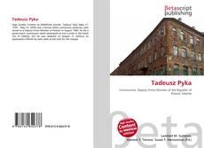 Bookcover of Tadeusz Pyka