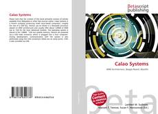 Bookcover of Calao Systems