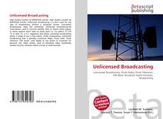 Buchcover von Unlicensed Broadcasting