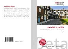 Buchcover von Randall Schmidt