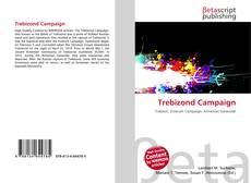 Bookcover of Trebizond Campaign
