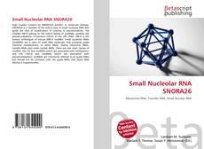 Buchcover von Small Nucleolar RNA SNORA26