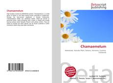 Bookcover of Chamaemelum