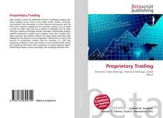 Couverture de Proprietary Trading