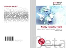 Buchcover von Nancy Hicks Maynard