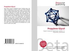 Bookcover of Propylene Glycol