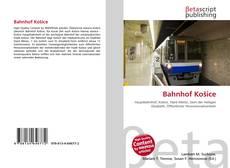 Buchcover von Bahnhof Košice