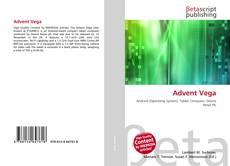 Capa do livro de Advent Vega