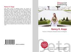 Couverture de Nancy K. Kopp