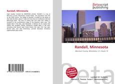 Buchcover von Randall, Minnesota