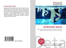 Bookcover of Underwater Sports