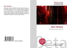 Bookcover of Acer Stream