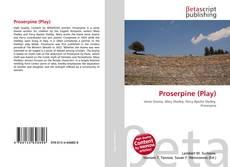 Capa do livro de Proserpine (Play)
