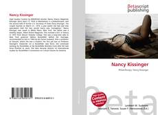 Portada del libro de Nancy Kissinger