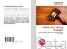Bookcover of Prosecution History Estoppel