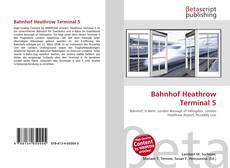 Capa do livro de Bahnhof Heathrow Terminal 5