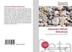 Alexander William Williamson kitap kapağı