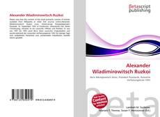 Bookcover of Alexander Wladimirowitsch Ruzkoi