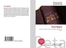 Capa do livro de Paul Bayes