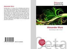 Alexander Wurz的封面