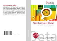 Capa do livro de Warwick Avenue (Song)