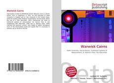 Couverture de Warwick Cairns