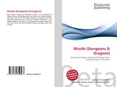 Portada del libro de Wraith (Dungeons & Dragons)
