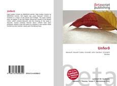 Buchcover von Unferð