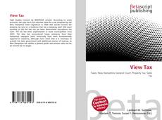 Bookcover of View Tax