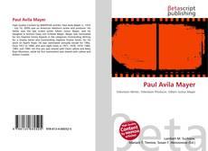 Capa do livro de Paul Avila Mayer