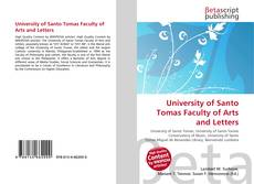 Copertina di University of Santo Tomas Faculty of Arts and Letters