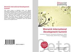 Bookcover of Warwick International Development Summit