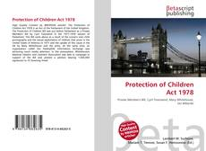 Buchcover von Protection of Children Act 1978