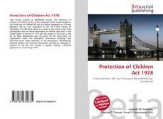 Couverture de Protection of Children Act 1978