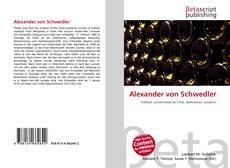 Portada del libro de Alexander von Schwedler