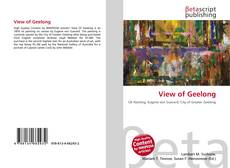 Bookcover of View of Geelong
